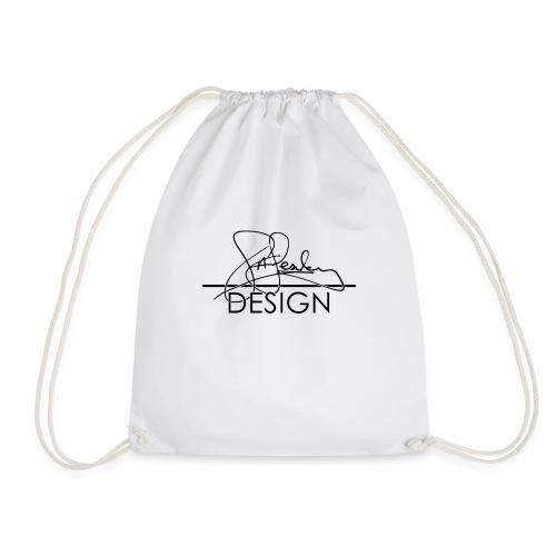 sasealey design logo png - Drawstring Bag