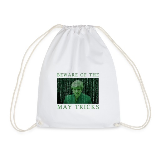 Beware of the May Tricks - Drawstring Bag