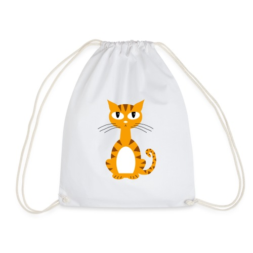 Ginger Puss - Drawstring Bag