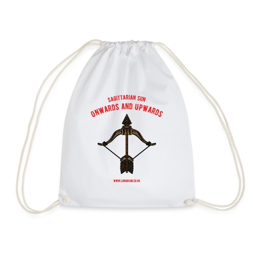 Sagittarius Sun Bright - Drawstring Bag
