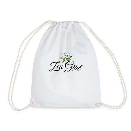 Zen Girl -Lotus Blomma - Prima Vera Design - Gymnastikpåse