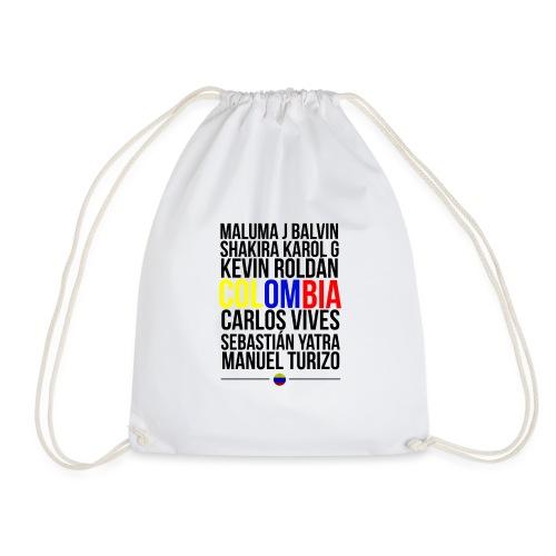 Reggaeton Shirt Kolumbien - Turnbeutel