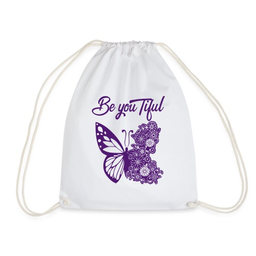 Be you tiful flower butterfly - Gymtas