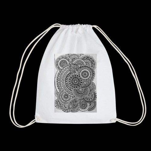 Chaos and Symmetry // - Drawstring Bag