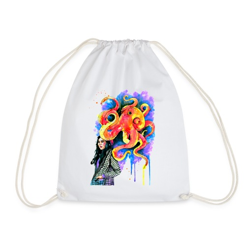 umbrella - Drawstring Bag