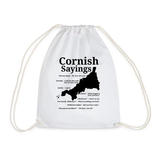 Cornish sayings - Drawstring Bag