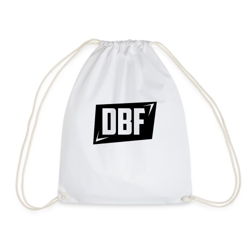 DBF Logo Text - Drawstring Bag