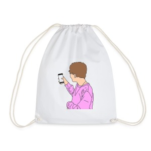 Payton's Cartoon - Drawstring Bag
