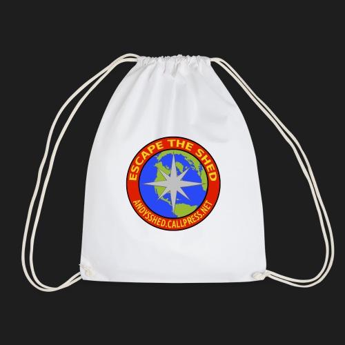 Escape The Shed Badge - Drawstring Bag