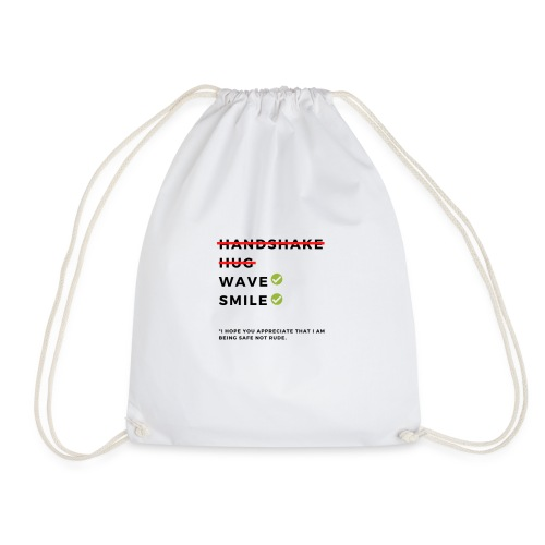 CoronaVirus Prevention Tees (Safe Not Rude) - Drawstring Bag
