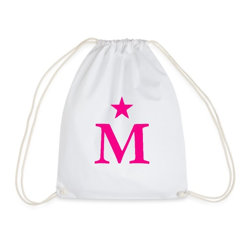 M de Moderdonia rosa - Mochila saco