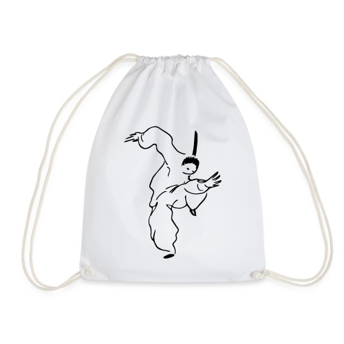 kungfu - Drawstring Bag