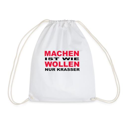 Machen - Turnbeutel