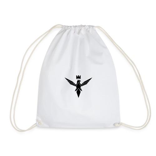 Small Black Sovereignty Logo - Drawstring Bag