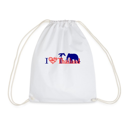 I love Thailand - Drawstring Bag