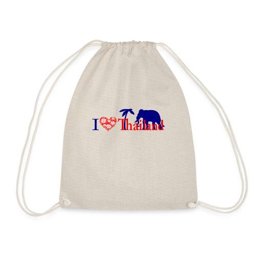 I love Thailand - Drawstring Bag