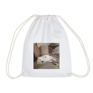 dog life - Drawstring Bag