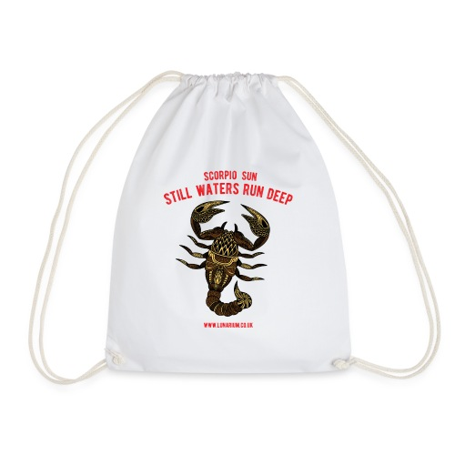 Scorpio Sun Bright - Drawstring Bag