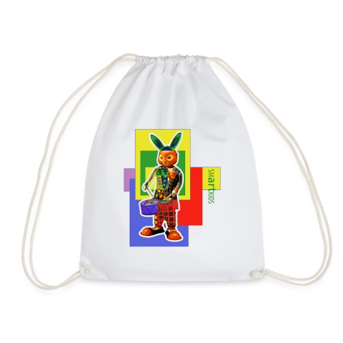smARTkids - Slammin' Rabbit - Drawstring Bag