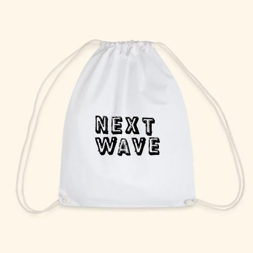 Large 'Next Wave' - Drawstring Bag