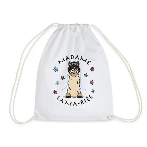 Madame Lama-riée, Lama, Mariage, EVJF, mariée - Sac de sport léger