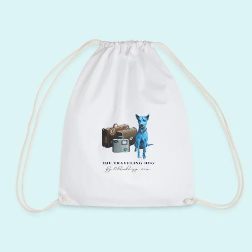 Laly Blue Big - Drawstring Bag