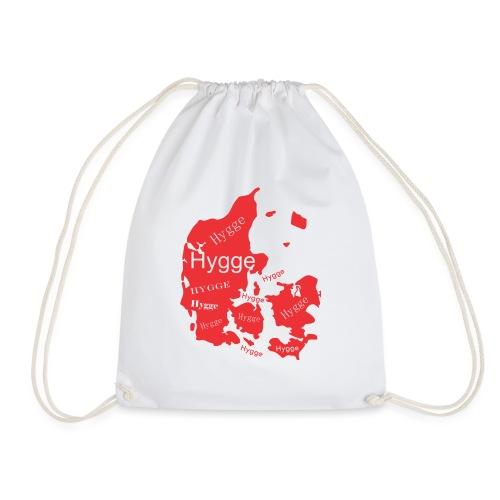 Hygge Mapa rojo - Mochila saco