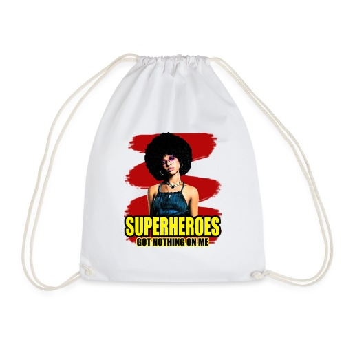 Superhelden haben nichts an mir rote Farbe - Turnbeutel