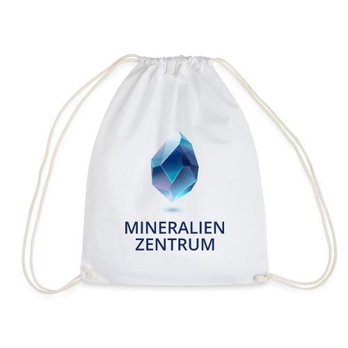 Mineralienzentrum Logo Blau - Turnbeutel