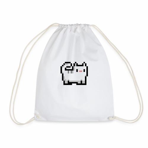 Retro Katze - Turnbeutel
