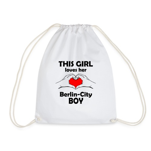 This girl loves her Berlin-City Boy - Turnbeutel