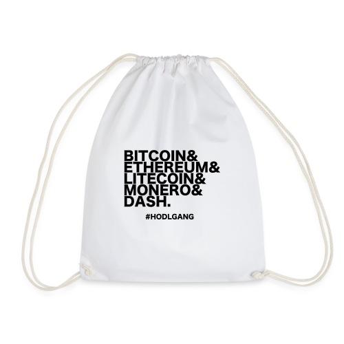 Bitcoin & Ethereum, cooles Crypto Design - Turnbeutel