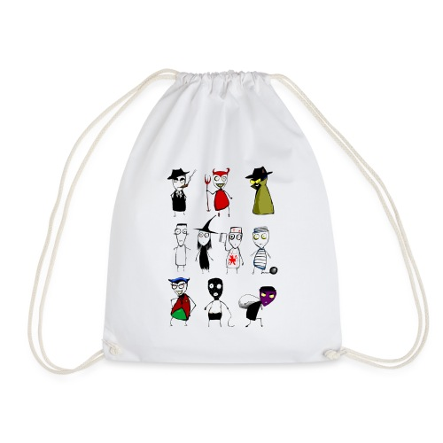 Bad to the bone - Drawstring Bag
