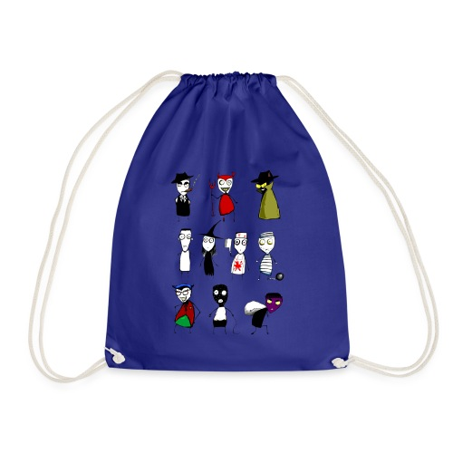 Bad to the bone - Drawstring Bag