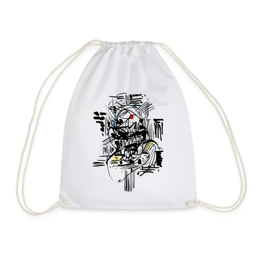 Samurai Ink - Drawstring Bag