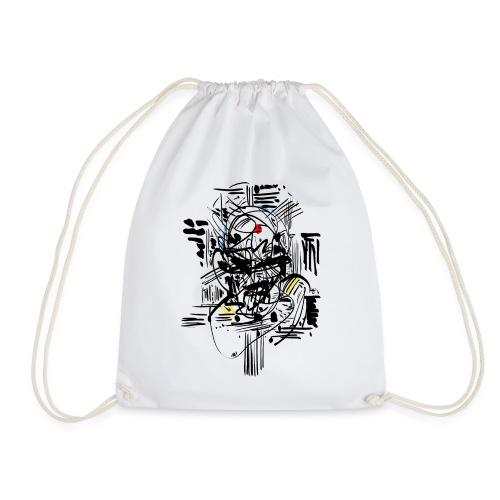 Samurai Ink - Drawstring Bag