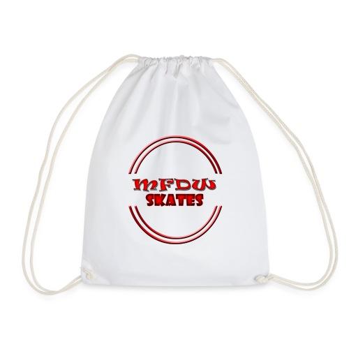 mfdw skates logo - Drawstring Bag