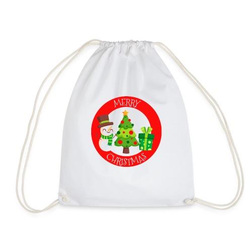 merry christmas 01 - Mochila saco