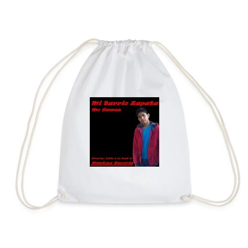 Camiseta Mc Gamez Mi Barrio Zapata - Mochila saco