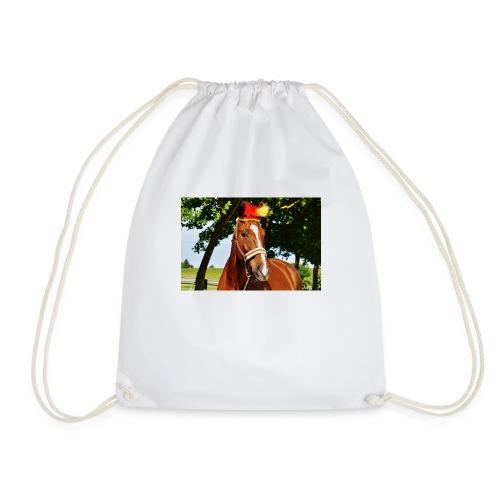 T-Shirt Pferd-Mit Hud - Turnbeutel