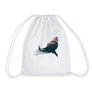 shark2-png - Drawstring Bag