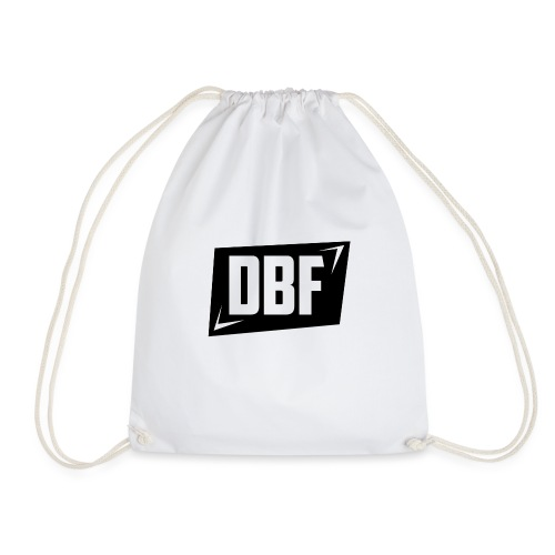 DBF Logo Text - Drawstring Bag