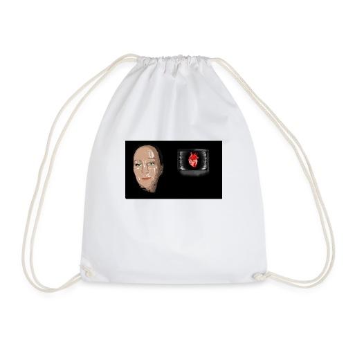 Digital heart - Gymbag