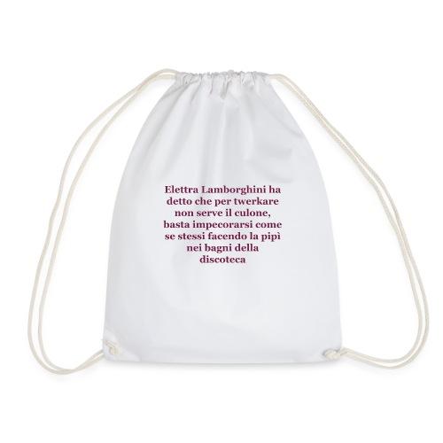 il meglio di twitter - Drawstring Bag