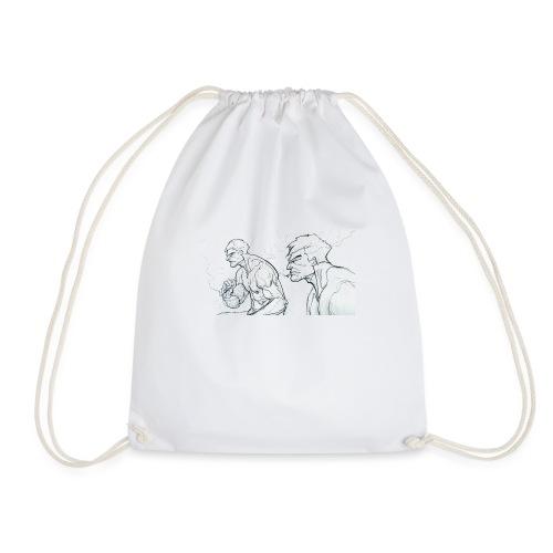 Drawing_1-jpg - Drawstring Bag