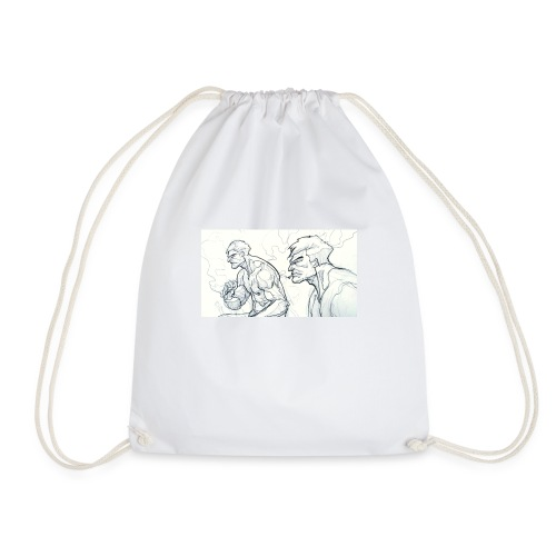 Drawing_1-jpg - Drawstring Bag