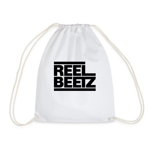 REEL BEETZ schwarz - Turnbeutel