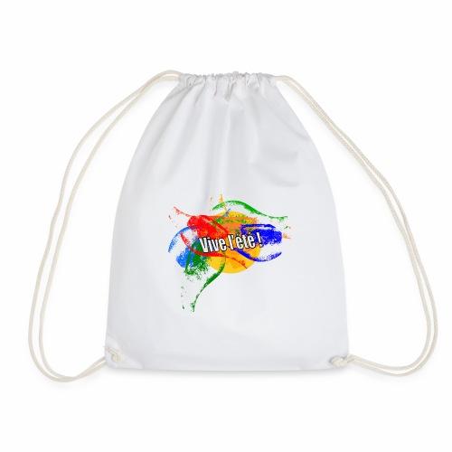 Live the summer ! - Drawstring Bag
