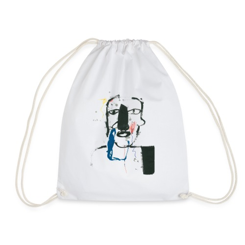 Portrait 06 - Drawstring Bag