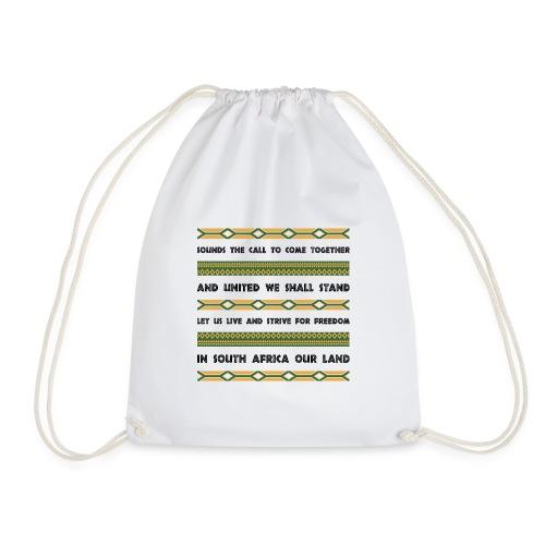 South Africa Anthem - Drawstring Bag